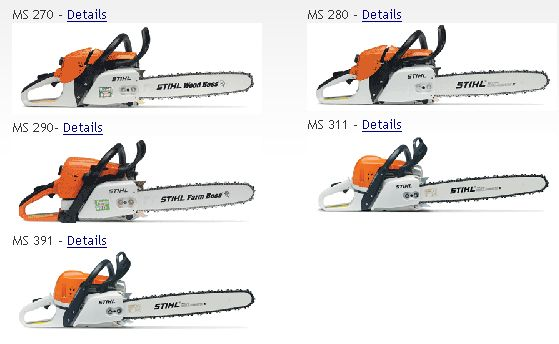 stihl chainsaws alabama and northwest florida escambia lawn equipment center. Black Bedroom Furniture Sets. Home Design Ideas